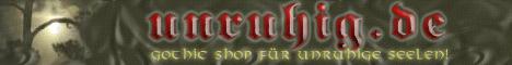 Unruhig - Gothic Shop
